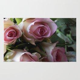 Roses From Paris Rug