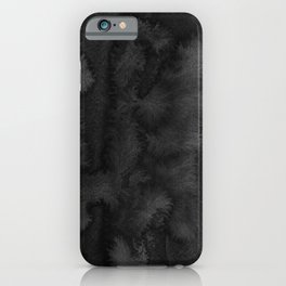 Black Ink Art No 2 iPhone Case