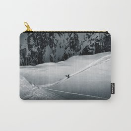 White Gold Carry-All Pouch