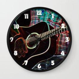 Guitar 1 Wall Clock