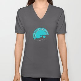 Crocodiles Out Late  Unisex V-Neck