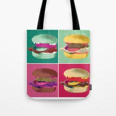 Pop Art Burger #2 Tote Bag