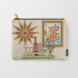 BAR IS OPEN Carry-All Pouch