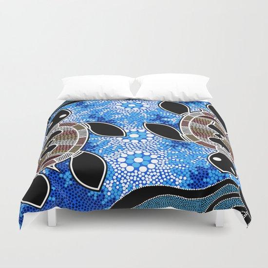 Sea Turtles - Authentic Aboriginal Art by hogartharts