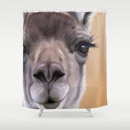 Guanaco Shower Curtain