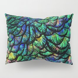 Preening Peacock Classic Pillow Sham