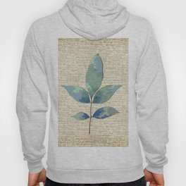 leaves. floral picture for home decor. Abstract Art. Wall art decorative 7 Hoody