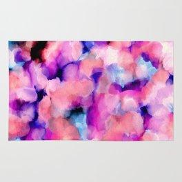 Abstract Watercolor Wash Rug