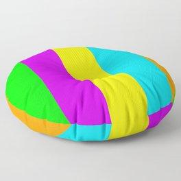Neon Mix #3 Floor Pillow