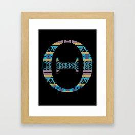Theta Framed Art Print