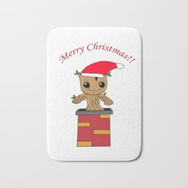 Christmas Baby Tree Bath Mat