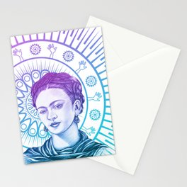Frida Kahlo Feminist Bravery Stationery Cards