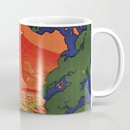 Vintage Italian travel Fiuggi springs Coffee Mug