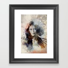 She I Framed Art Print
