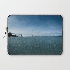 Golden Gate Bridge + Fog Laptop Sleeve