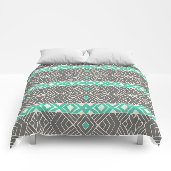 Going Tribal Comforters