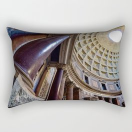The Pantheon in Rome, Italy Rectangular Pillow