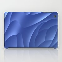 dune iPad Cases featuring Blue Dune by Lyle Hatch
