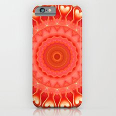 Mandala strong heart iPhone 6s Slim Case