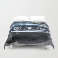 ford Duvet Covers featuring 1967 Ford Mustang by VHS Photography