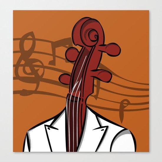 Music In My Head Canvas Print
