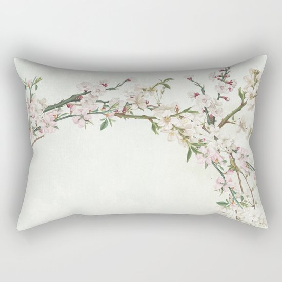 Bloom and blossom Rectangular Pillow