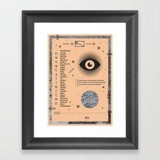 Nevel Framed Art Print