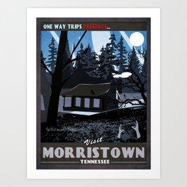 Visit Morristown Art Print