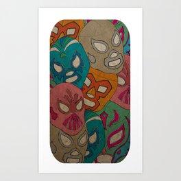 love lucha Art Print