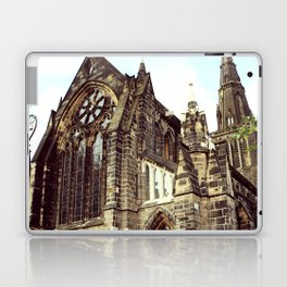 glasgow cathedral medieval cathedral Laptop & iPad Skin