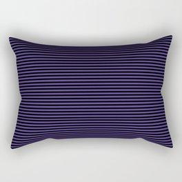 Gothic purple stripes Rectangular Pillow