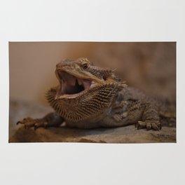 Hissing Bearded Dragon Rug