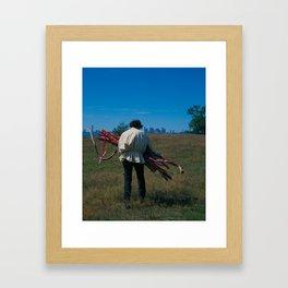 10 of Wands Framed Art Print