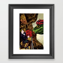 There were not magic words to be spoken Framed Art Print