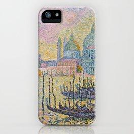 Grand Canal (Venice), Paul Signac, 1905 iPhone Case