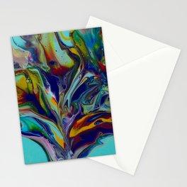 Acrylic Flow Art Stationery Cards
