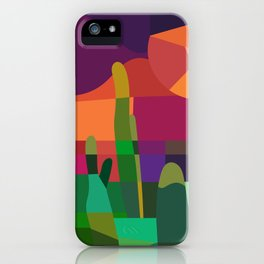Botanical Wonderland - Cactus Garden Bybrije iPhone Case