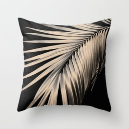 Palm Leaf Dream #1 #tropical #decor #art #society6 Throw Pillow