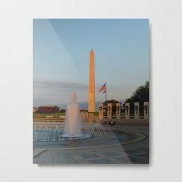 Washington Monument 2 Metal Print