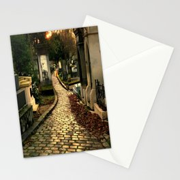 Pere Lachaise Cemetery Stationery Cards