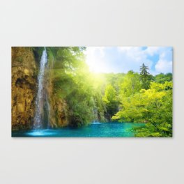 Devil's Punchbowl Falls Trailhead Angwin California Untied States Canvas Print