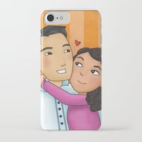 dad iPhone & iPod Cases featuring dad by Grisi Fernandez Minor