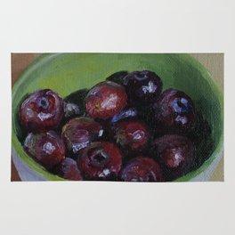 Cherries fruit Rug