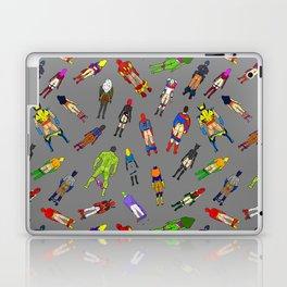 Butt of Superhero Villian - Dark Laptop & iPad Skin