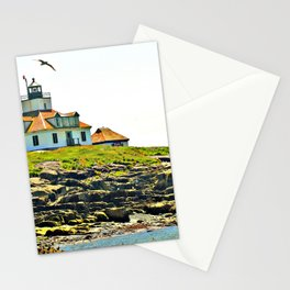 Lighthouse Island 2 Photography Stationery Cards