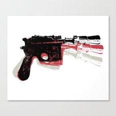 Blaster (Right) Canvas Print