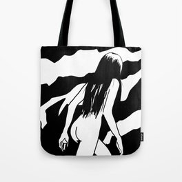 Nude ascending cliff Tote Bag
