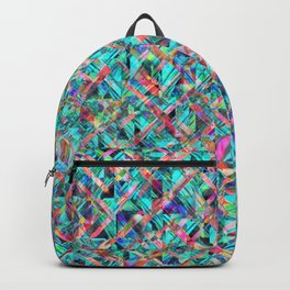 Diamond Prism Pattern Backpack