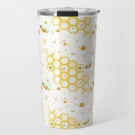 Honey Bees Travel Mug