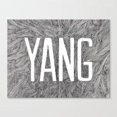 Yang Canvas Print